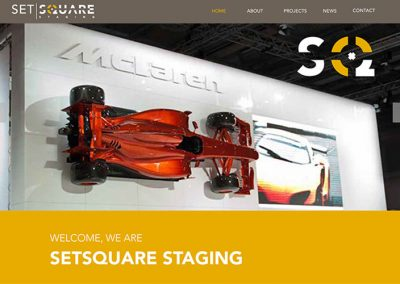 Setsquare Staging